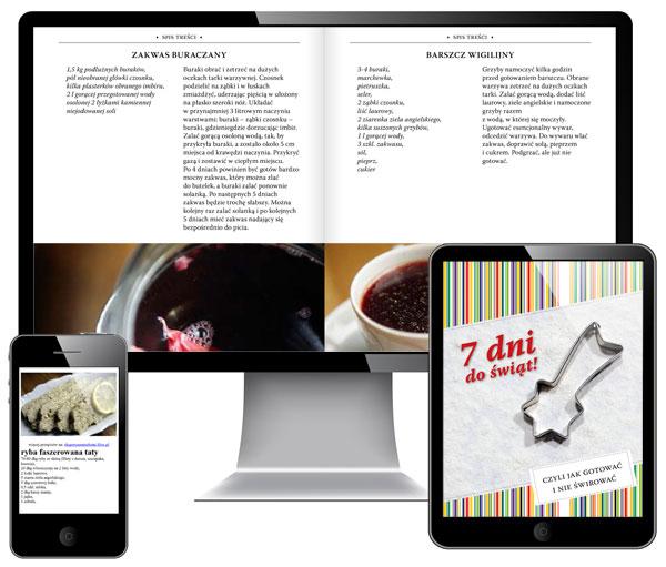 7 dni do świąt, ebook kulinarny, bezpłatny, pobierz, download,