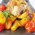 Kurczak generał z warzywami
