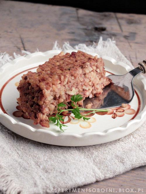 orzechhy włoskie, lubczyk, bez mięsa