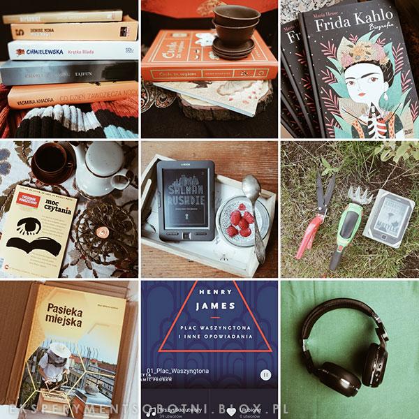 książki, 2019, ebook, czytnik, audiobook, słuchawki,
