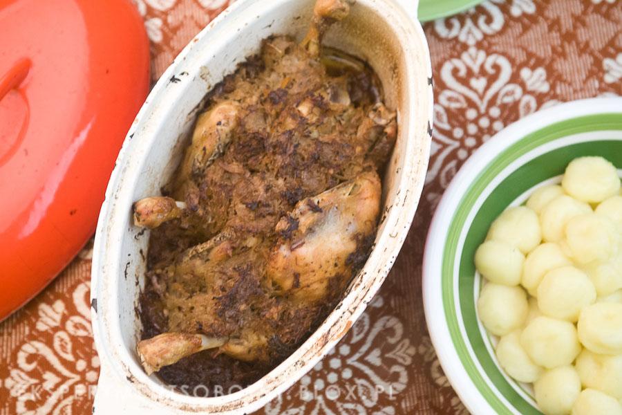 kurczak z kiszoną kapustą, kurczak po zakopiańsku, kurczak po góralsku