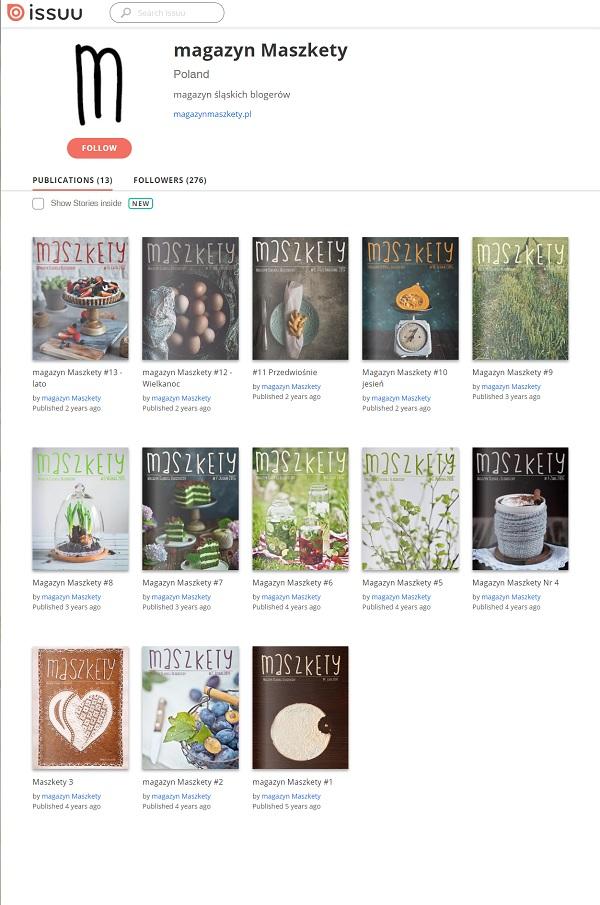 magazyn maszkety, czasopismo, blogerów, śląskich