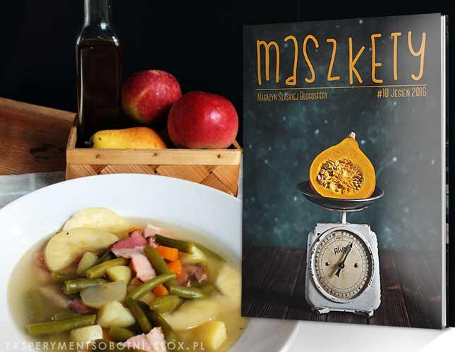magazyn maszkety, zupy, przepisy, blogerzy, kuchnia niemiecka,