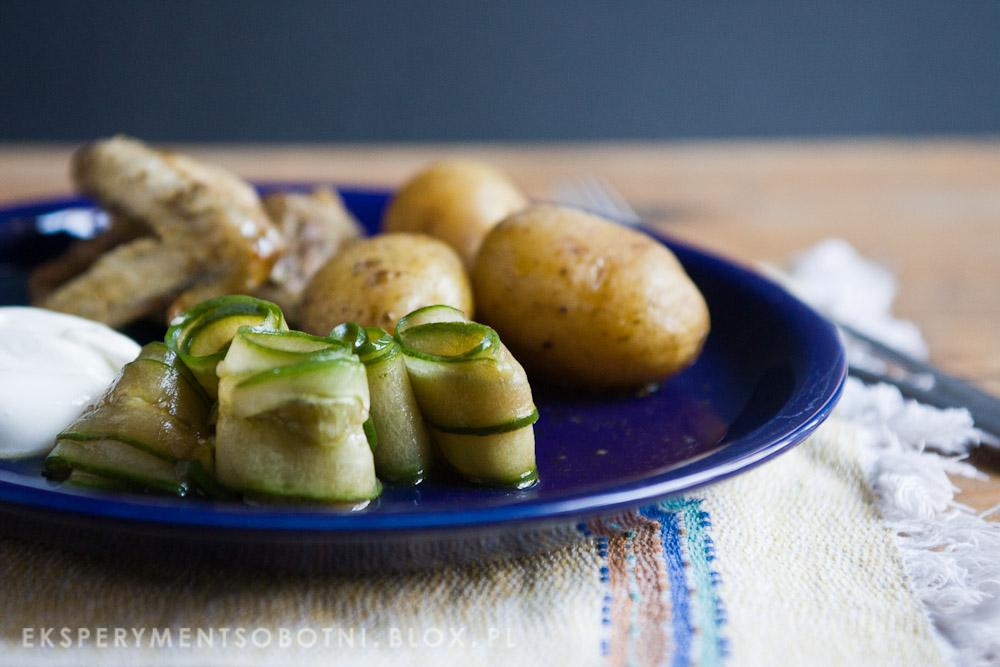 ogórki, kuchnia szwedzka, na słodko,