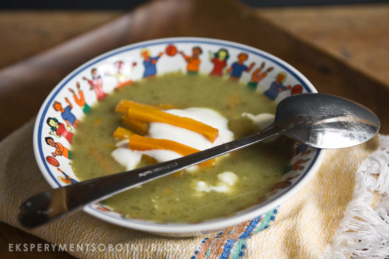 zupa, lato, sałata, dieta lekkostrawna, jogurt,