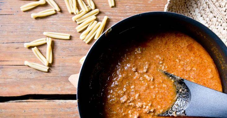 sos, boloński, kuchnia włoska, do makaronu,