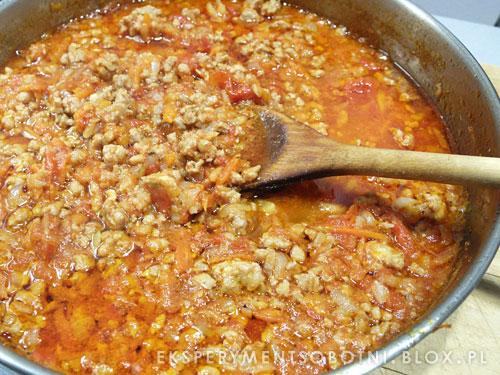 kuchnia włoska, mięsny sos, do makaronu,