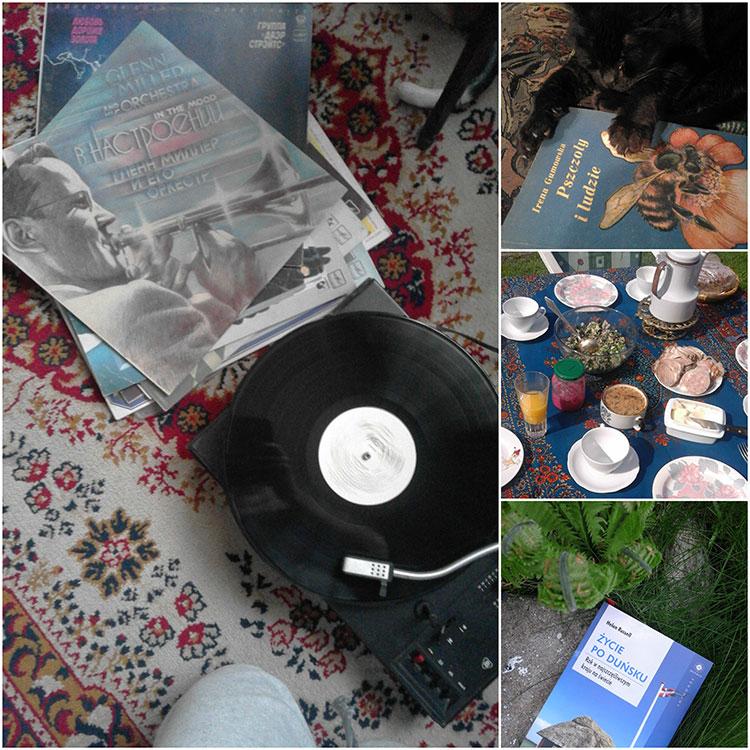 relaks, wolne, płyty, winyle, muzyka, książki, majówka, w domu, 9 dniowa,