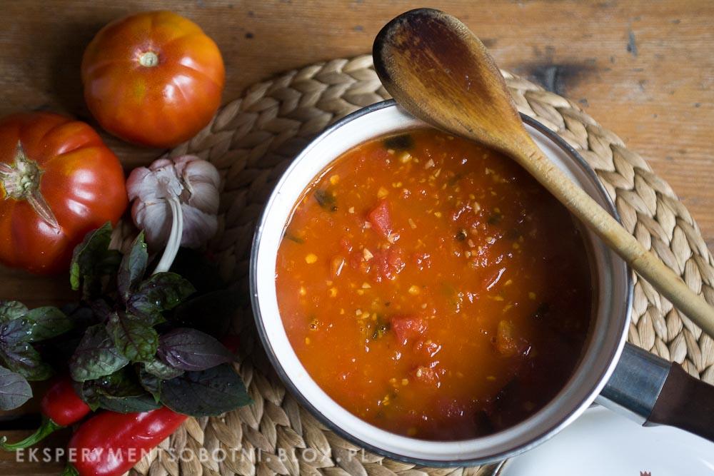 pomidorowy, włoski, kuchnia włoska, przepis,