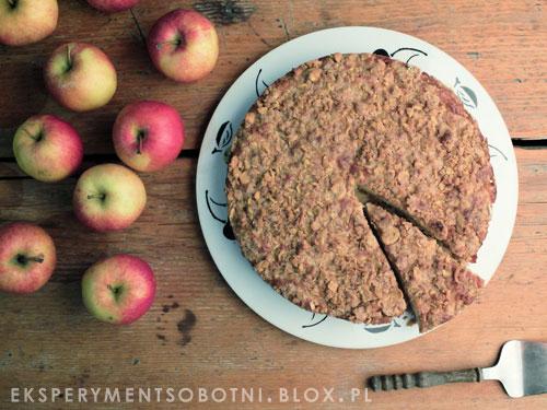 jabłka, jabłecznik, ciasto, deser,