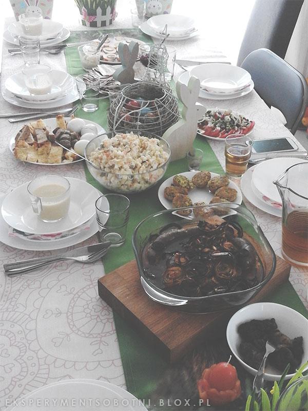 potrawy, dekoracje, zastawa, obrus,