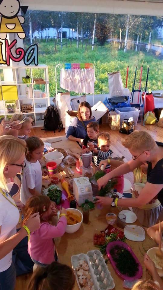 uleuli.pl, warsztaty, kulinarne, plenerowe, dla dzieci,