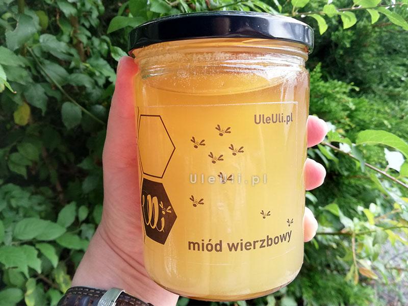 uleuli, miód, wierzbowy, pszczoły,