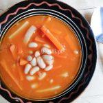 uleuli.pl, kuchnia węgierska, fasola, zupa