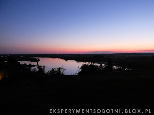 zachód słońca, punkt widokowy, mięćmierz